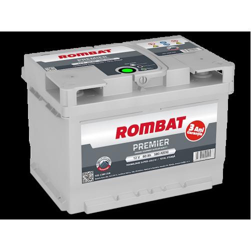 Baterie Auto Rombat Premier 60 Ah