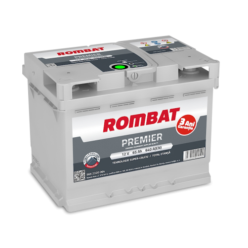 Baterie Auto Rombat Premier 65 Ah