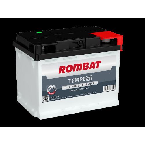 Baterie Semitractiune Rombat Tempest 60 Ah