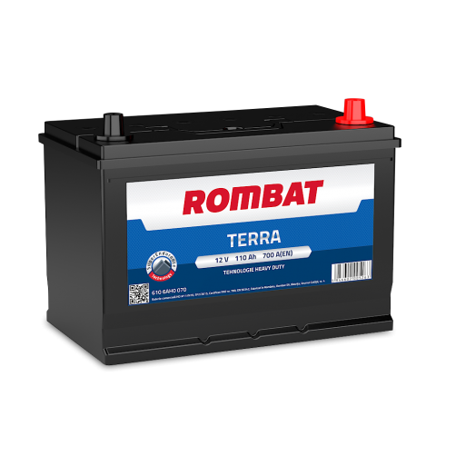 Baterie Auto Rombat Terra 110 Ah