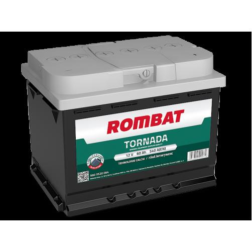 Baterie Auto Rombat Tornada 60 Ah