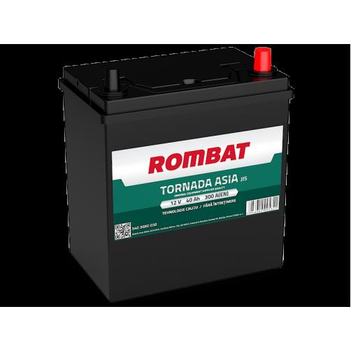 Baterie Auto Rombat Tornada ASIA 40 Ah cu borne subtiri