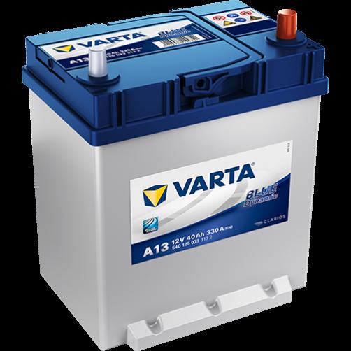 Baterie Auto Varta Blue 40 Ah cu borne subtiri (A13)