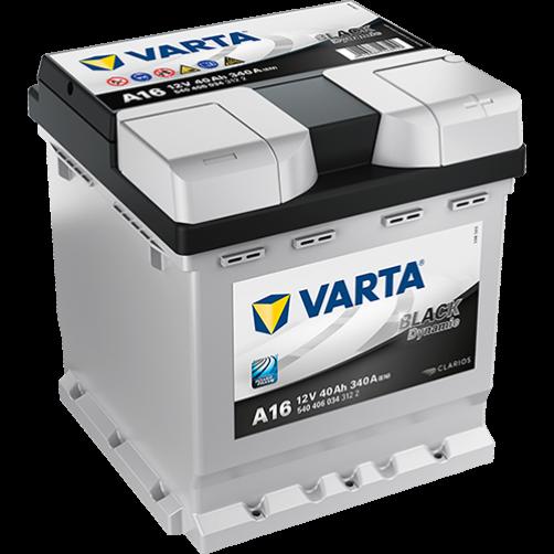 Baterie Auto Varta Black 40 Ah (A16)