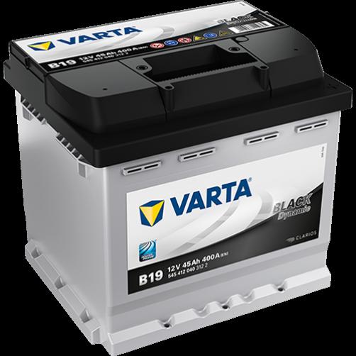 Baterie Auto Varta Black 45 Ah (B19)