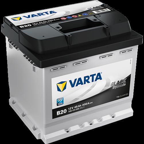 Baterie Auto Varta Black 45 Ah cu borne inverse (B20)