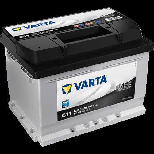 Baterie Auto Varta Black 53 Ah (C11)