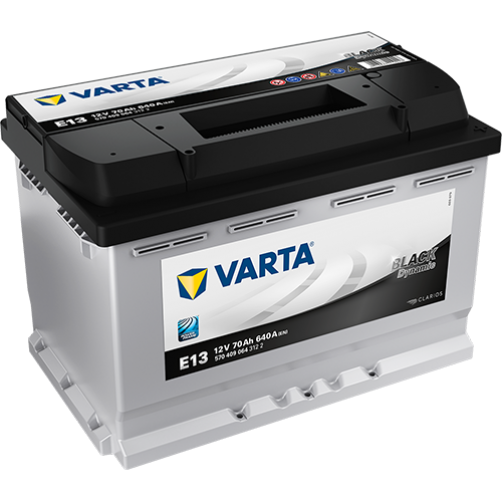 Baterie Auto Varta Black 70 Ah (E13)