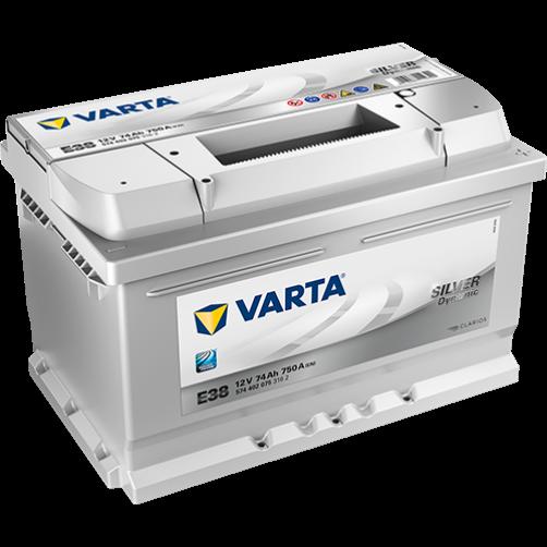 Baterie Auto Varta Silver 74 Ah (E38)