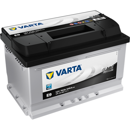 Baterie Auto Varta Black 70 Ah (E9)
