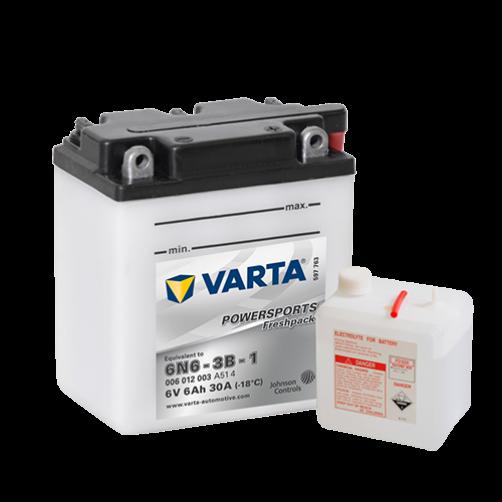Baterie Moto Varta Freshpack 6 V 6 Ah