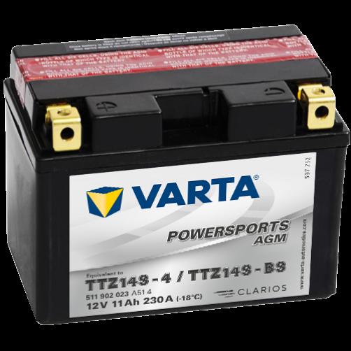 Baterie Moto Varta AGM 11 Ah (TTZ14S-BS)