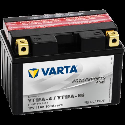 Baterie Moto Varta AGM 11 Ah (YT12A-BS)
