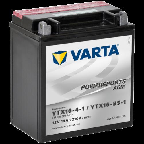 Baterie Moto Varta AGM 14 Ah (YTX16-BS-1)