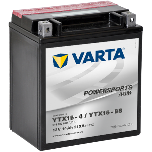 Baterie Moto Varta AGM 14 Ah (YTX16-BS)