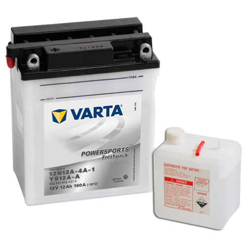 Baterie Moto Varta Freshpack 12 Ah
