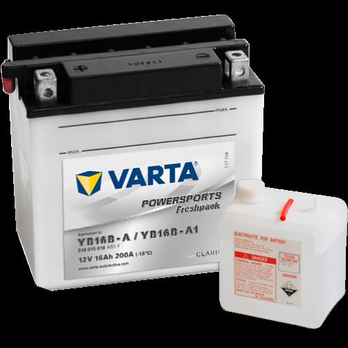 Baterie Moto Varta Freshpack 16 Ah (YB16B-A)