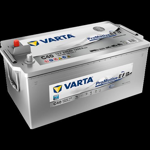 Baterie Auto Varta Promotive EFB 240 Ah (C40)