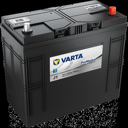 Baterie Auto Varta ProMotive Heavy Duty 125 Ah (J1)