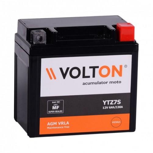 Baterie Moto Volton AGM VRLA 6 Ah