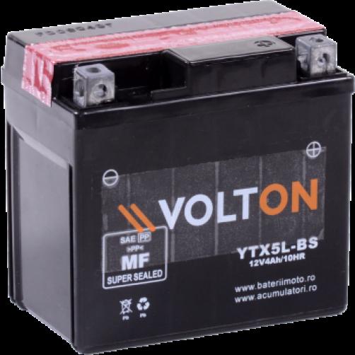 Baterie Moto Volton AGM 4 Ah (YTX5L-BS)