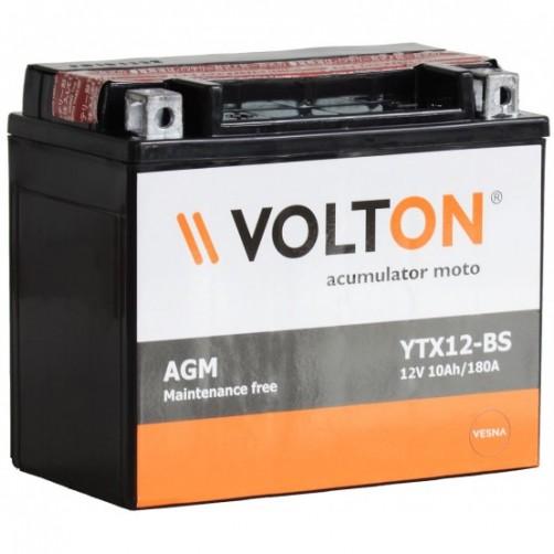 Baterie Moto Volton AGM 10 Ah (YTX12-BS)
