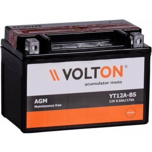 Baterie Moto Volton AGM 9.5 Ah (YT12A-BS)