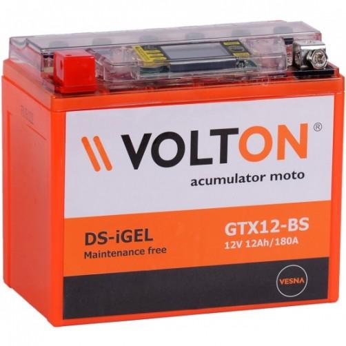 Baterie Moto Volton DS-iGel 12 Ah (GTX12-BS)