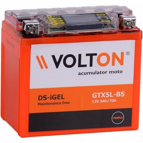 Baterie Moto Volton DS-iGel 5 Ah (GTX5L-BS)