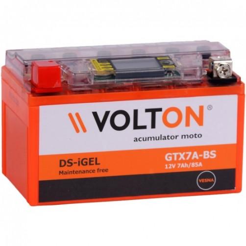 Baterie Moto Volton DS-iGel 7 Ah (GTX7A-BS)