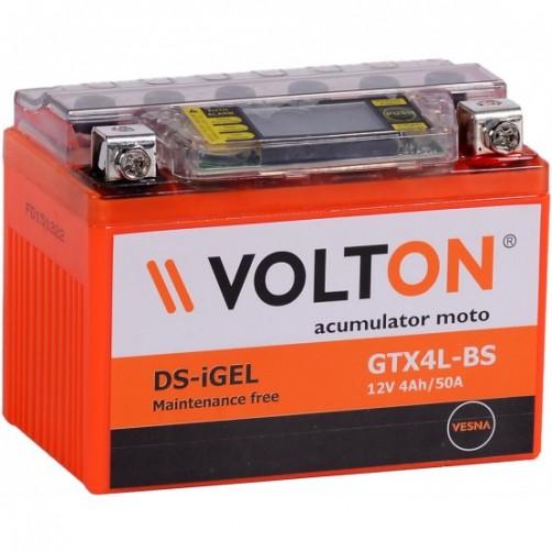 Baterie Moto Volton DS-iGel 4 Ah (GTX4L-BS)