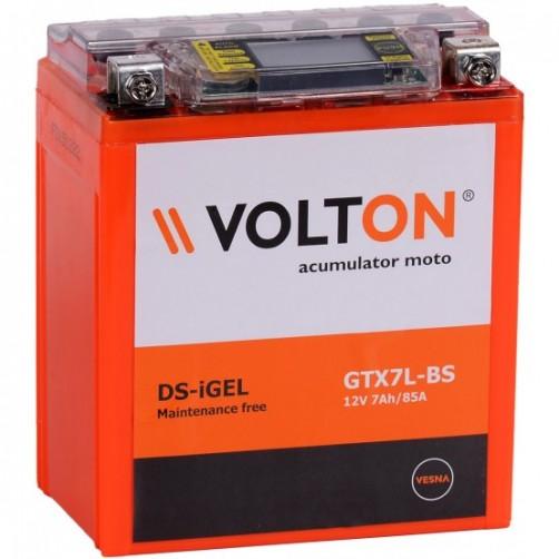 Baterie Moto Volton DS-iGel 7 Ah (GTX7L-BS)