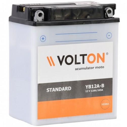 Baterie Moto Volton 12 Ah cu borne inverse