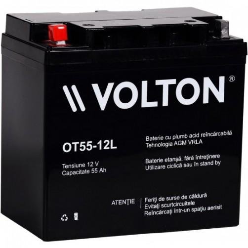 Baterie Staționară Volton AGM 55 Ah