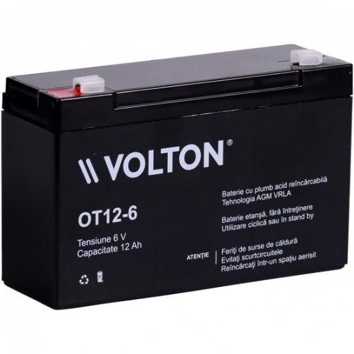 Baterie Staționară Volton AGM 6V 12 Ah
