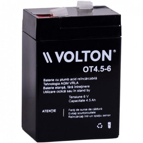 Baterie Staționară Volton AGM 6V 4,5 Ah