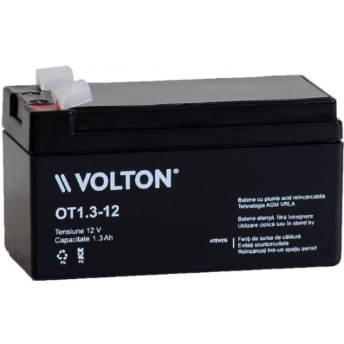 Baterie Staționară Volton AGM 1.3 Ah
