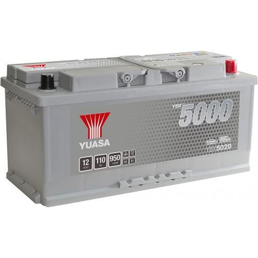 Baterie Auto Yuasa 110 Ah (YBX5020)