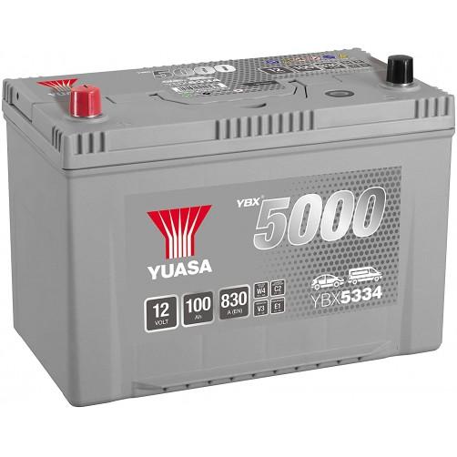 Baterie Auto Yuasa 100 Ah cu borne inverse (YBX5334)