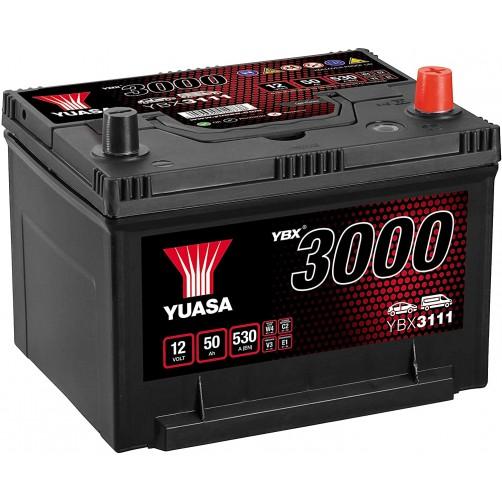 Baterie Auto Yuasa 50 Ah (YBX3111)