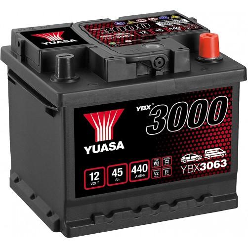 Baterie Auto Yuasa 45 Ah (YBX3063)