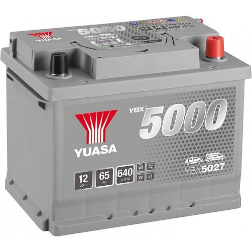 Baterie Auto Yuasa 65 Ah (YBX5027)