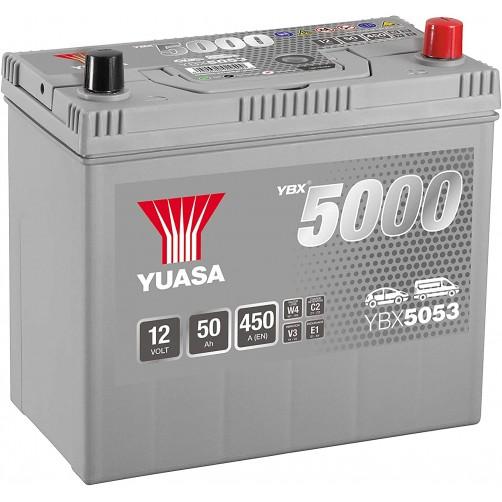 Baterie Auto Yuasa 50 Ah (YBX5053)