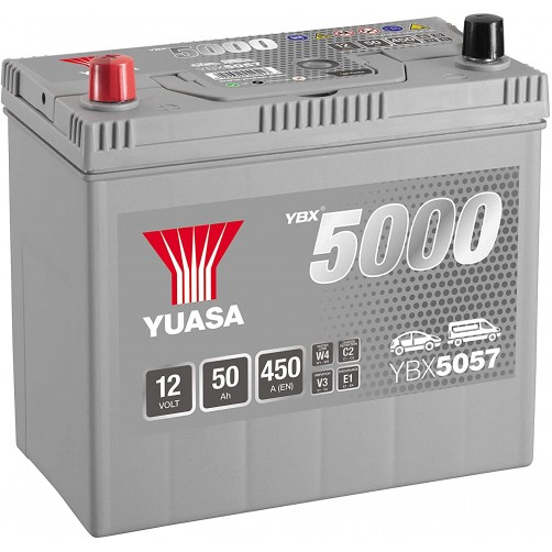 Baterie Auto Yuasa 50 Ah cu borne inverse (YBX5057)