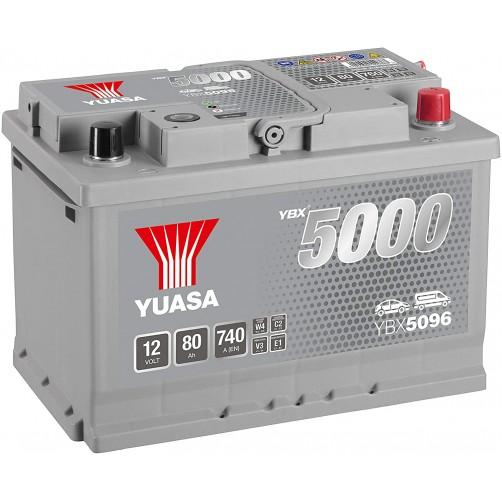 Baterie Auto Yuasa 80 Ah (YBX5096)
