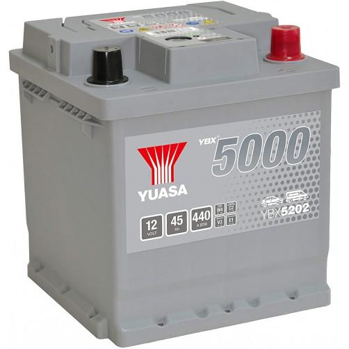 Baterie Auto Yuasa 45 Ah (YBX5202)