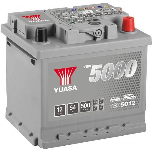 Baterie Auto Yuasa 54 Ah (YBX5012)