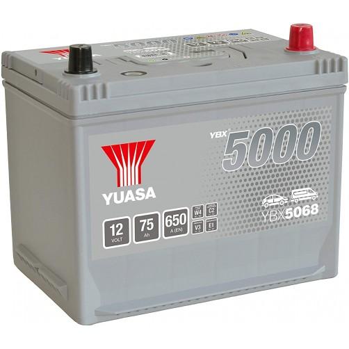 Baterie Auto Yuasa 75 Ah (YBX5068)