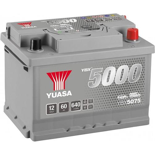 Baterie Auto Yuasa 60 Ah (YBX5075)