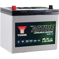 Baterie Hobby Yuasa YBX Active Leisure & Marine AGM 90 Ah (L26-AGM)